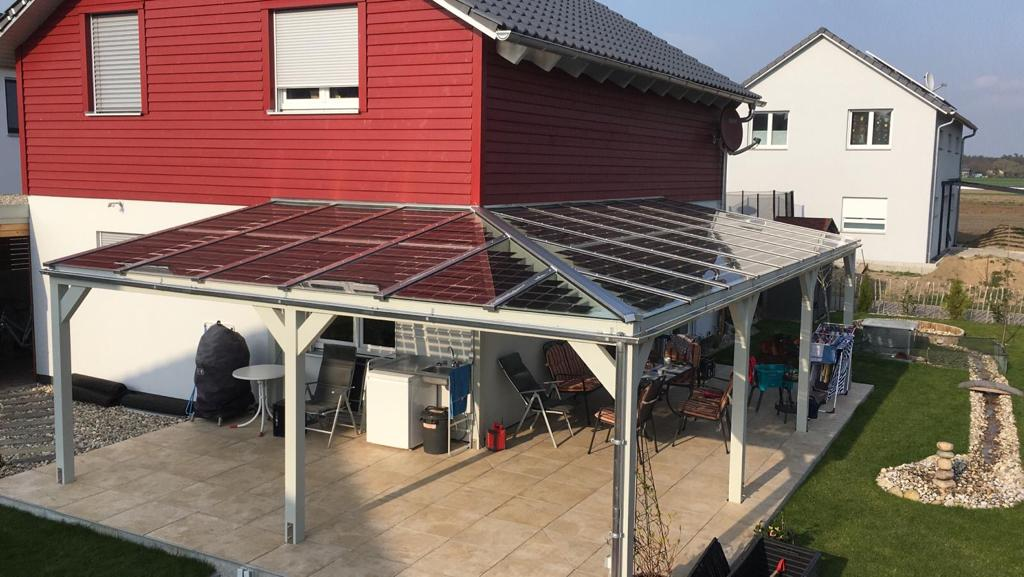 <span>德國家庭雨陽篷BIPV項目</span>